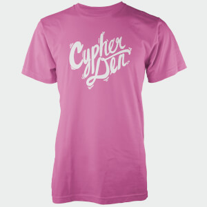 T-Shirt Homme Cypherden White Chest Insignia - Rose