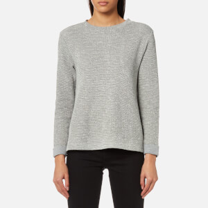 BOSS Orange Women's Tusweat Sweatshirt - Medium Grey