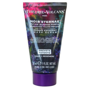 La Theorie Des Volcans Noir Eternae Youth Potion, Face Scrub