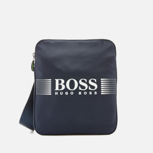 BOSS Green Men's Pixel Small Bag - Bright Blue