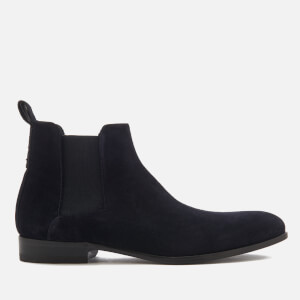HUGO Men's Cult Suede Chelsea Boots - Dark Blue