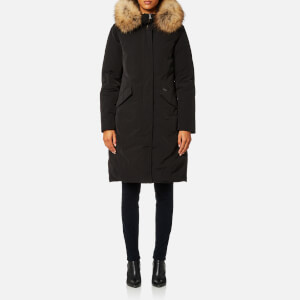 Woolrich Women's Luxury Long Parka - Black