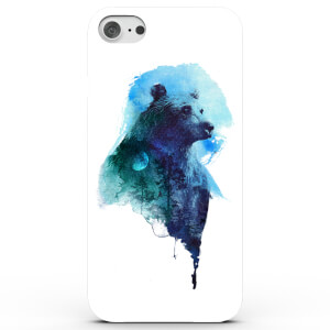 Coque iPhone & Android L'Ours de la Nuit - 4 Couleurs