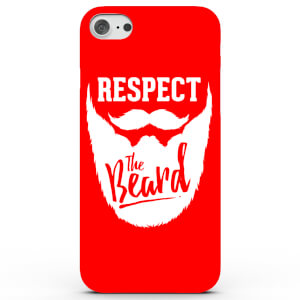 Coque iPhone & Android Respect the Beard - 4 Couleurs