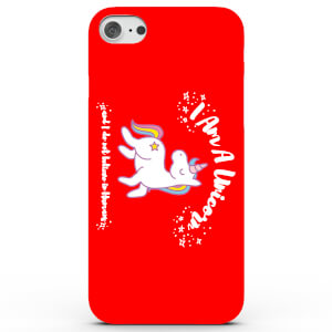 I Am a Unicorn and I Do Not Believe in Humans Phone Case for iPhone & Android - 4 Colours