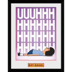 Bob's Burgers Tina - 16 x 12 Inches Framed Photograph