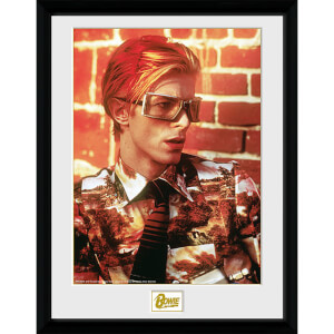 David Bowie Glasses - 16 x 12 Inches Framed Photograph