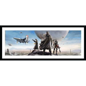 Destiny Panoranic - 30 x 12 Inches Framed Photograph