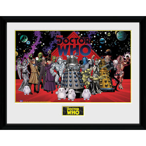 Doctor Who Villains Landscape - 16 x 12 Inches Framed Photograph
