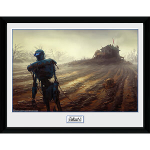 Fallout 4 Farming Robot - 16 x 12 Inches Framed Photograph