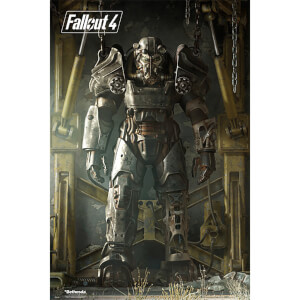 Fallout 4 Key Art Poster - 61 x 91.5cm Maxi Poster