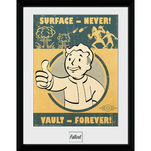 Fallout 4 Vault Forever - 16 x 12 Inches Framed Photograph