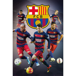 FC Barcelona Star Players - 61 x 91.5cm Maxi Poster