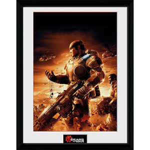 Gears of War 4 Gears 2 - 16 x 12 Inches Framed Photograph