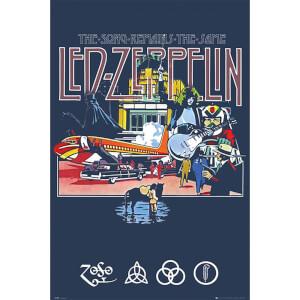 Led Zeppelin Remains - 61 x 91.5cm Maxi Poster