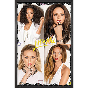 Little Mix Squares - 61 x 91.5cm Framed Maxi Poster