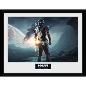 Mass Effect: Andromeda Landscape - 16 x 12 Inches Framed Photograph