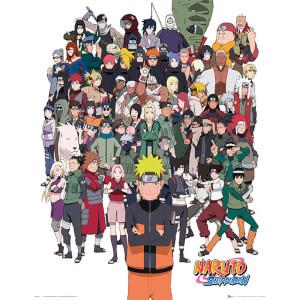 Naruto Shippuden Group - 40 x 50cm Mini Poster