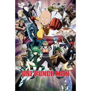 One Punch Man Collage - 61 x 91.5cm Maxi Poster