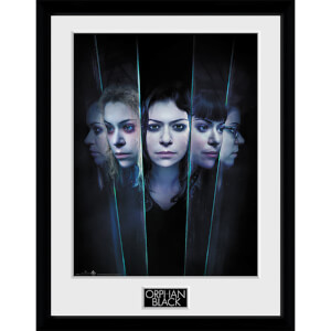 Orphan Black Faces - 16 x 12 Inches Framed Photograph