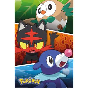 Pokémon Alola Partners - 61 x 91.5cm Maxi Poster