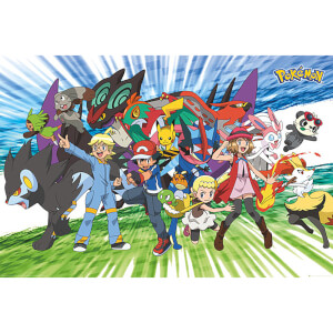 Pokémon Traveling Party - 61 x 91.5cm Maxi Poster