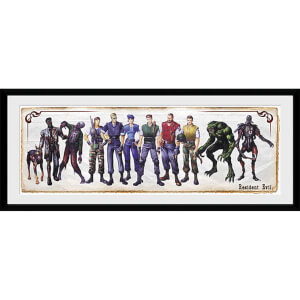 Resident Evil Concept Art - 30 x 12 Inches Framed Photograph