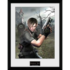 Resident Evil Leon Graveyard - 16 x 12 Inches Framed Photograph