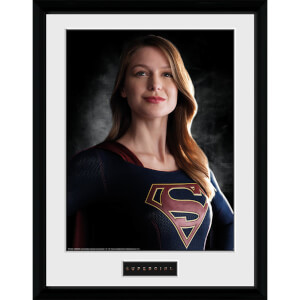 Supergirl Portrait - 16 x 12 Inches Framed Photograph