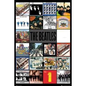 The Beatles Albums - 61 x 91.5cm Maxi Poster