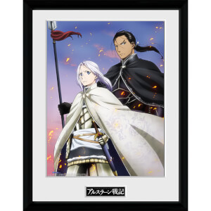The Legend of Arslan Embers - 16 x 12 Inches Framed Photograph