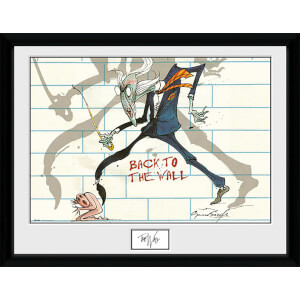 Pink Floyd Back to the Wall - 16 x 12 Inches Framed Photograph