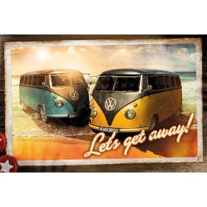 VW Camper Let's Get Away - 61 x 91.5cm Maxi Poster