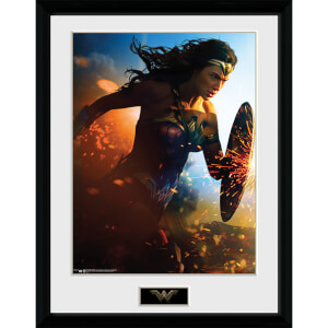 Wonder Woman Run - 16 x 12 Inches Framed Photograph