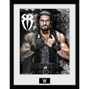 WWE Roman Reigns Photo - 16 x 12 Inches Framed Photograph