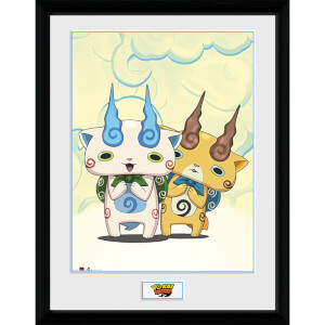 Yo-Kai Watch Koma Brothers - 16 x 12 Inches Framed Photograph