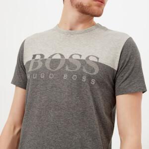 BOSS Green Men's 5 Crew Neck T-Shirt - Grey