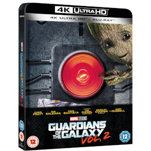 Guardians of the Galaxy Vol.2 - 4K Ultra HD (Inklusive 2D Blu-ray) - Zavvi UK Exklusives Limited Edition Steelbook