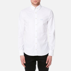 BOSS Orange Men's Epreppy Long Sleeve Shirt - White