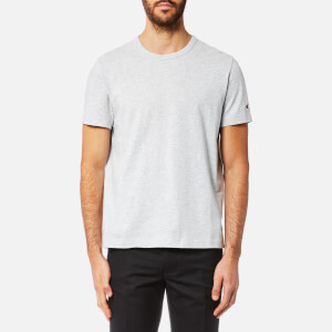 Champion Men's Basic Sleeve Logo Short Sleeve T-Shirt - Grey Marl