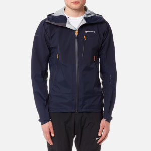 Montane Men's Ultra Tour Jacket - Antarctic Blue/Burnt Orange