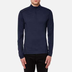Montane Men's Primino Zip Neck Top - Antarctic Blue