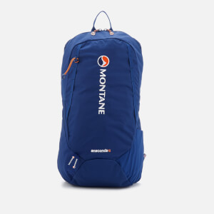 Montane Men's Anaconda 18 Backpack - Antarctic Blue/Tangerine