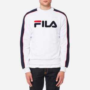 FILA Blackline Men's Toby Crew Neck Sweatshirt - White