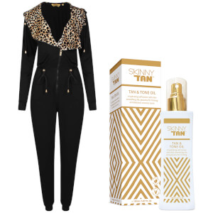 Bronzie Jumpsuit & SKINNY TAN Oil Bundle
