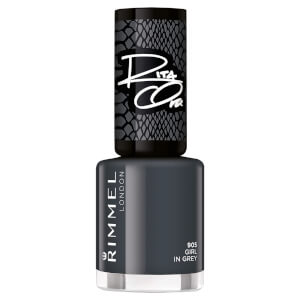 Rimmel 60 Seconds Rita Shades of Black Nail Polish - Black Grey 905 8ml