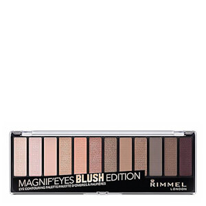 Paleta 12 Pan Eyeshadow de Rimmel - Blushed Edition 14 g