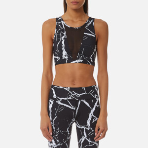 Varley Women's Terry Crop Top - Noir Marble