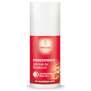 Desodorante en roll-on con granada de Weleda 50 ml