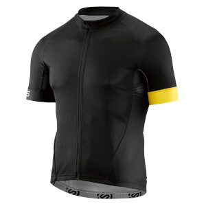 Skins Classic Cycling Jersey - Black/Yellow
